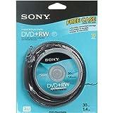 3 Pack Disc, DVD+RW, 1.4GB, 8CM, 10/pk Spindle Skin Pack, DVD 1.4GB MINI, NON-PRINTABLE