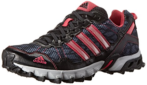 adidas Performance Women's Thrasher 1.1 W Trail Running Shoe, Core Black/Vivid Berry S14/Onix, 7 M US
