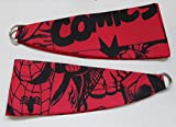 MARVEL COMICS 'RED' CURTAIN TIEBACK PAIR