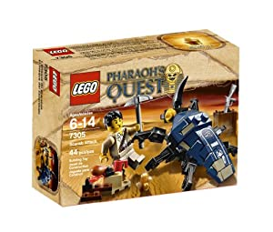 Lego Pharoah's Quest Scarab Attack - 7305