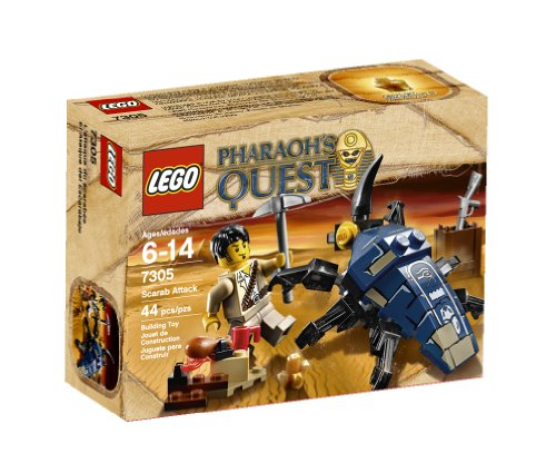 LEGO Pharaoh's Quest Scarab Attack 7305