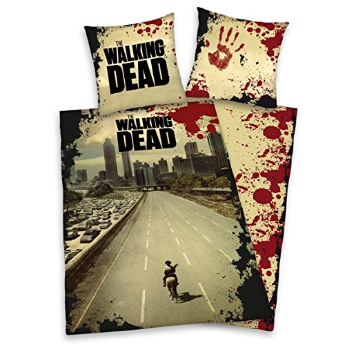 The Walking Dead lenzuola cotone