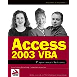 Access 2003 Vba Programmer's Reference (Wrox Press) (Programmer to Programmer)by Patricia Cardoza