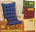 2PC. PADDED ROCKING CHAIR CUSHION SET...