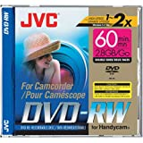 JVC VDW28DU - DVD-RW (8cm) - 2.8 GB 2x - jewel case - removable storage media