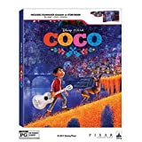Disney's Coco Limited Exclusive (Blu-ray + DVD + Digital) includes Filmaker's Gallery and Storybook