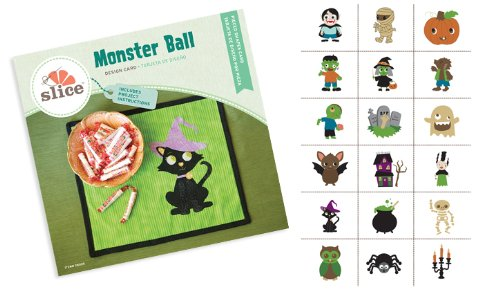 Slice Design Card - Monster Ball
