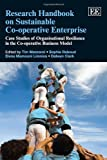 img - for Research Handbook on Sustainable Co-Operative Enterprise: Case Studies of Organisational Resilience in the Co-Operative Business Model (Elgar Original Reference) book / textbook / text book