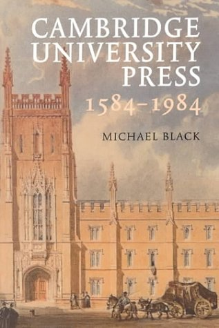 Cambridge University Press 15841984, MICHAEL BLACK