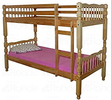 Ideal Furniture Melissa Bunk Bed, Pine
