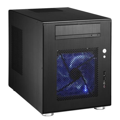 Lian Li PC-Q08B Mini-ITX Tower-Cube - schwarz