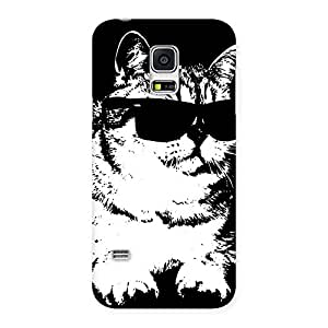 Thug Cat Back Case Cover for Galaxy S5 Mini