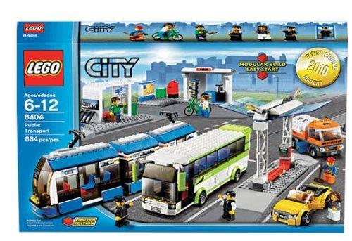 Toys Top Sales: LEGO City Set #8404 Public Transport Review