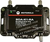 Motorola Signal Booster 1-Port Cable Modem TV HDTV Amplifier with Active Return Cable Modem Boost