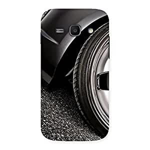 Ajay Enterprises Fill Car Beautiful Back Case Cover for Galaxy Ace 3