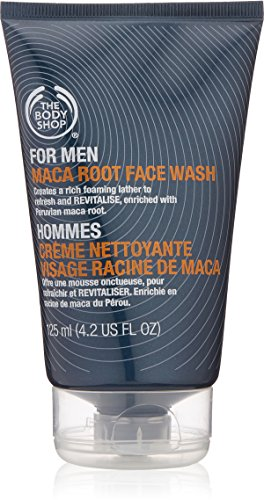 The Body Shop For Men Maca Root Face Wash, 4.2-Fluid Ounce (The Body Shop Condition For Hair compare prices)