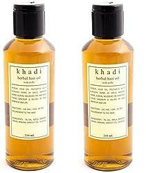 Khadi Triphala Oil, 210ml,(Pack of 2)
