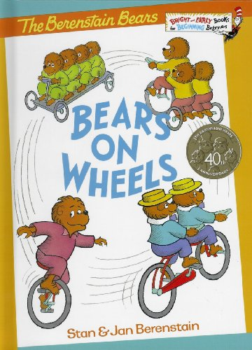 Bears on Wheels: A Bright and Early Counting Book (Bear On Wheels compare prices)