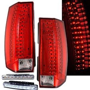 amazon com 2007 2009 tahoe  suburban rear brake tail led lightbulb diagram