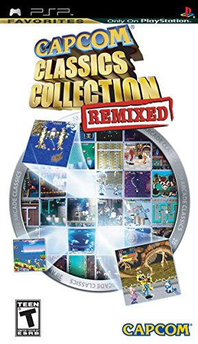 Capcom Classics Collection Remixed - Sony PSP (Capcom Classics Collection compare prices)