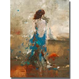 Artistic Home Gallery 3040620S Elegant Moment by Lisa Ridgers Premium Stretched Oversize Canvas Wall Art