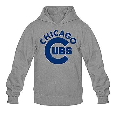 Libling Men's Chicago Cubs Logo2 Hoodie Sweatshirt