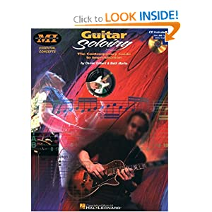 Download Guitar Soloing The Contemporary Guide To Improvisation CD Included
