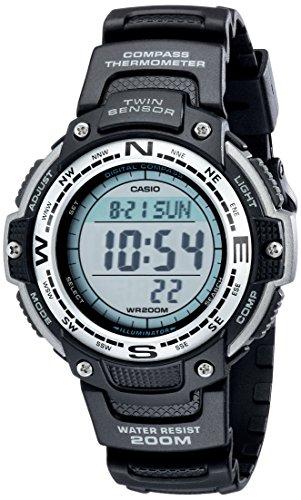 Casio Men's SGW100-1V Resin Compass Watch