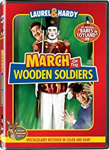 March Of The Wooden Soldiers Colorized Black White by Legend Films