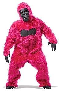 California Costumes Men's Full Gorilla Suit Costume, Pink, One Size