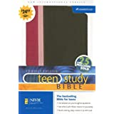Niv Teen Study Bible Compact Pink Brown Limited Editionby Zondervan