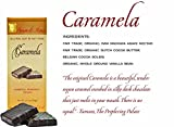 Amore di Mona Luxury Dark Chocolate & Caramela Gift Box: Vegan, Free of Gluten, Peanuts, Tree Nuts, Milk & Soy. Non-GMO. (Holiday Collection: Caramela/Dark Chocolate/Caramela w cranberries)