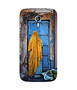 Blue Door Back Cover Case for Micromax Canvas Magnus A117