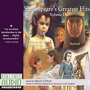 Shakespeare's Greatest Hits Retold by Bruce Coville , Volume I Audiobook