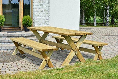 Alwo-Tisch-Bank-Garnitur-Gartengarnitur-Gartenmbel-Sitzgruppe-Modell-Nostalgie