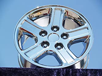 Dodge Ram 1500: Set of 4 genuine factory 17inch chrome wheels