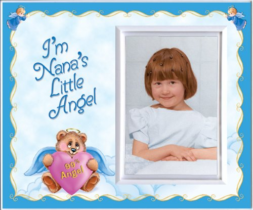 I'm Nana's Little Angel! - Picture Frame Gift - 1