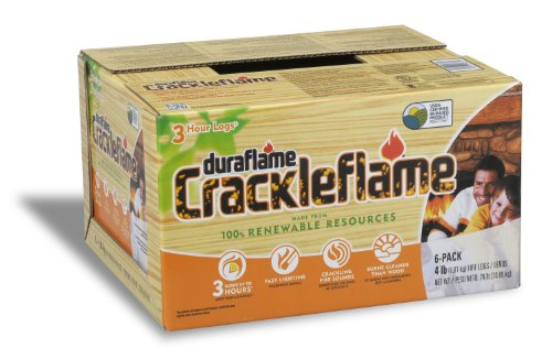 duraflame-4637-6-pack-crackleflame-firelogs-4-pound-by-duraflame