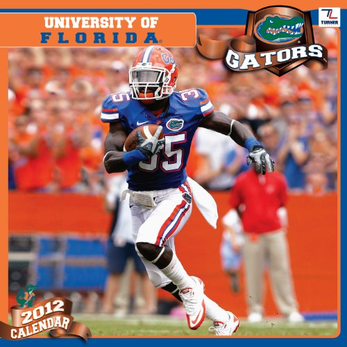 2012 FLORIDA GATORS 12X12 WALL CALENDAR