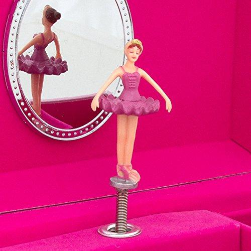 Lucy locket portagioie con carillon bambina motivo
