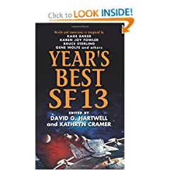 Year's Best SF 13 (Year's Best SF (Science Fiction)) by David G. Hartwell and Kathryn Cramer