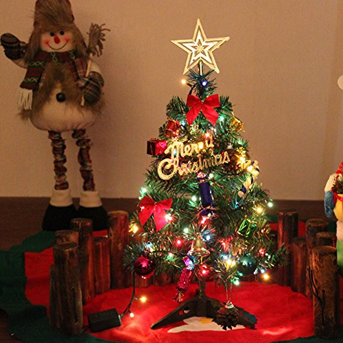 guojia-pre-lit-20inches-green-artificial-christmas-tree-with-led-multicolorinstall-your-own-work
