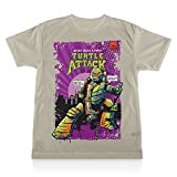 TMNT: Mikey Turtle Attack Tee - Youth