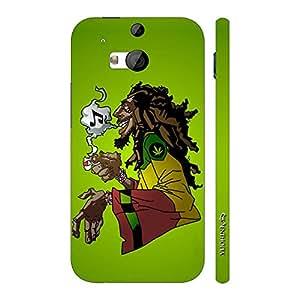 Enthopia Designer Hardshell Case BOBBY RASTA Back Cover for HTC One M8
