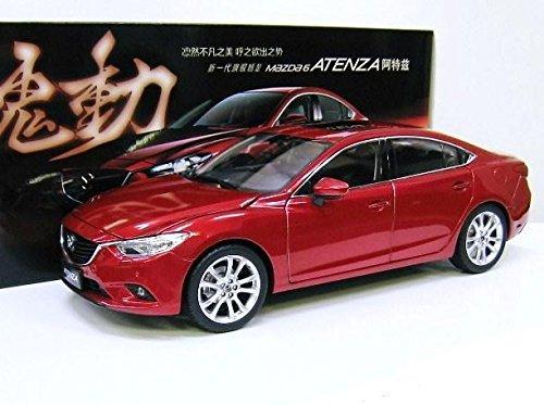 Mazda特注 1/18 マツダ アテンザ セダン (レッド) SKY ACTIV 魂動