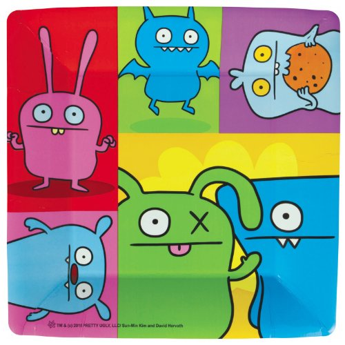 Uglydoll Large Paper Plates (8ct) - 1