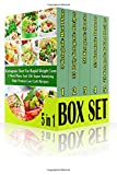 img - for Ketogenic DIet For Rapid Weight Loss BOX SET 5 IN 1: 3 Meal Plans And 126 Super Satisfying High Protein Low Carb Recipes: (Lose Belly Fat Fast, ... lose 10 pounds in a week , weight watchers) book / textbook / text book