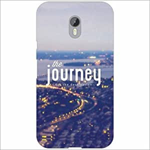 Moto G (3rd Generation) Back Cover - Silicon Journey Designer Cases