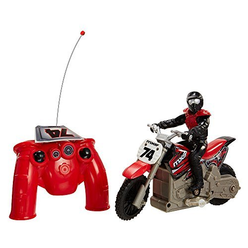 MXS Radio Remote Controlled Super Stunt Bike - Red (Radio Controlled Motorcycle compare prices)