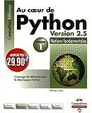 echange, troc Weslev Chun - Au Coeur de Python Version 2.5 Vol.1 Nouveaux Prix
